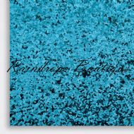 Chunky Turquoise Glitter Fabric